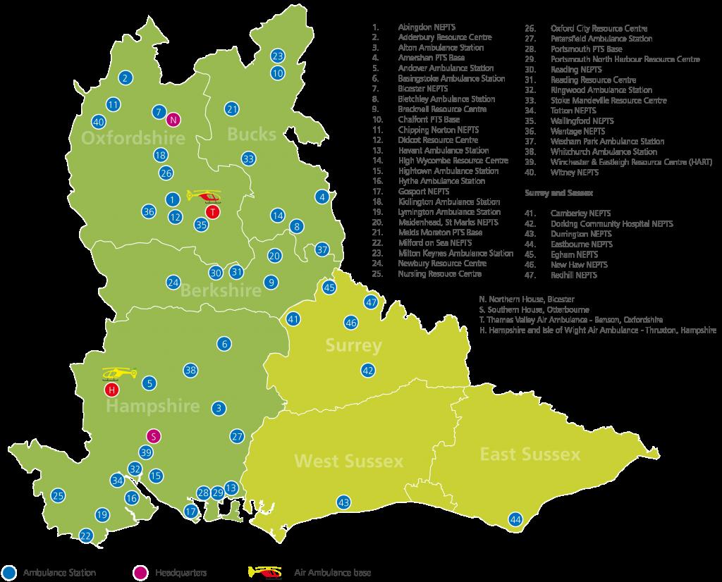 SCAS Locations