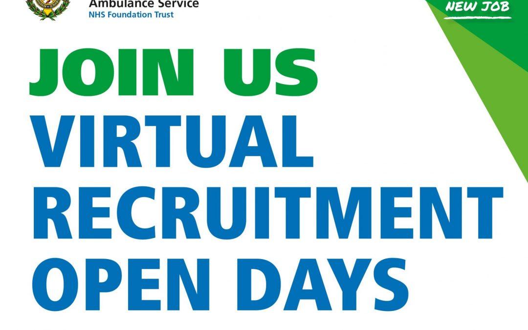 Virtual Recruitment Open Days 2021