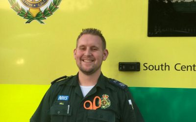 Working for the ambulance service-I feel proud to be an ECA